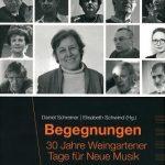 Buch zu den Weingartener Tagen für Neue Musik